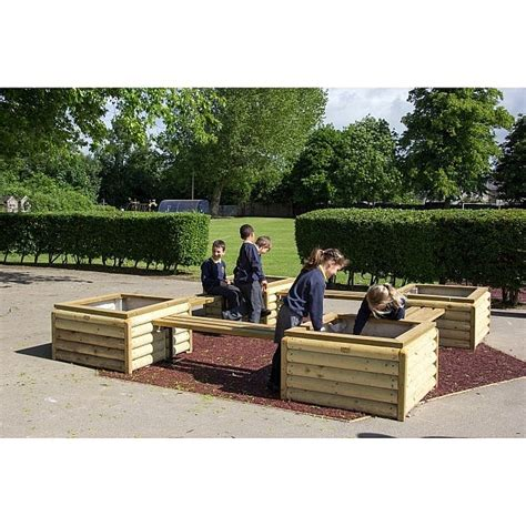 Log Planter Boxes by Log Planter Box H55cm Fawns Playground Equipment