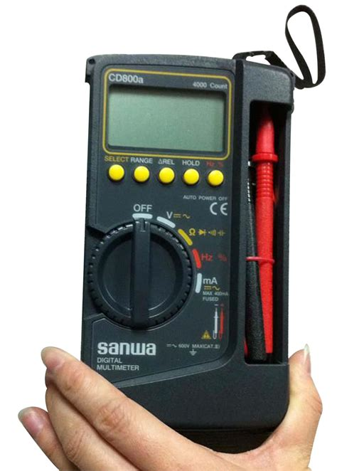 Jual Multimeter Fluke Murah jual multimeter digital cd 800a sanwa harga murah