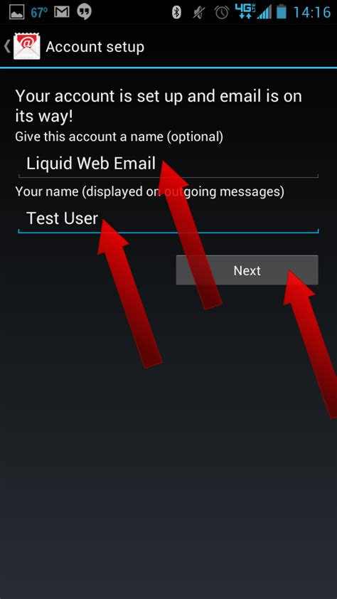 how to setup email on android how to setup email on android liquid web knowledge base