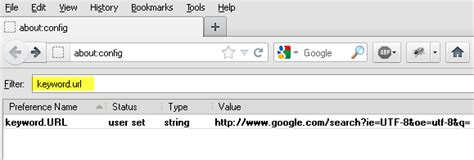 Change Search Engine Firefox Address Bar How To Change The Default Search Engine Of Firefox Address Bar