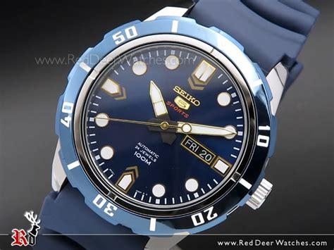Seiko 5 Sports Srp677k2 Automatic Jam Tangan Seiko Otomatis Original buy seiko 5 blue automatic 24 jewels 100m sport srp677k2 srp677 buy watches