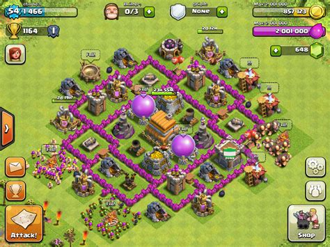 layout level 6 town hall clash of clans base designs level 6 clash of clans wiki