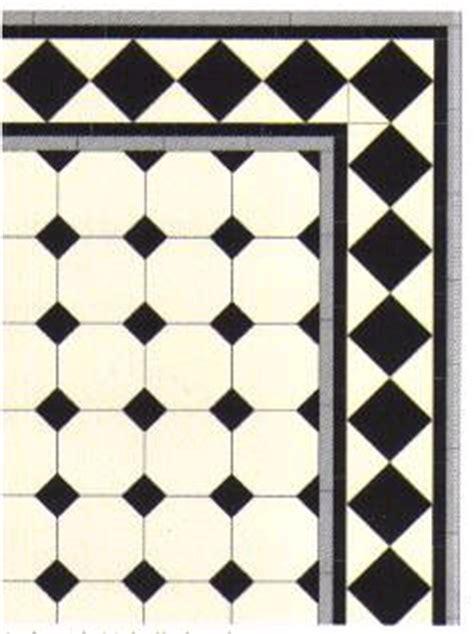 Art Deco Kitchens engelske vikorianske geometriske gulv fliser little