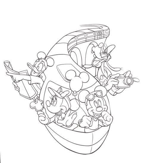 Disney World Coloring Pages walt disney world coloring pages az coloring pages