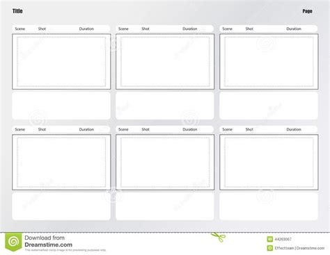 storyboard illustrator template storyboard template search results calendar 2015