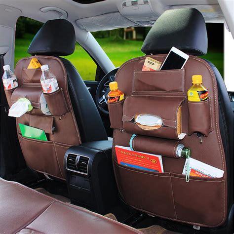 Multifunction Car Seat Back Bag Organizer Storage Cup Pad Phone Holder Car Seat Storage Best Storage Design 2017