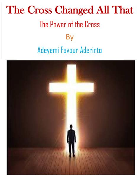 The Power Of the cross changed all that the power of the cross pdf