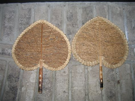 hand fans for sale old vintage ladies victorian style heart shaped wicker