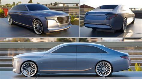 2021 mercedes u class concept for an uber saloon