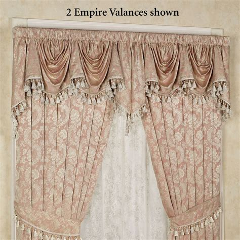 Empire Valance chantilly empire valance 110 x 28 touch of class