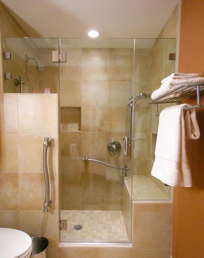 shower stall with bench walk in showers with seats