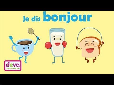 education enfant je dis bonjour j apprends politesse education