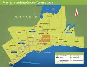 markham canada map articles home