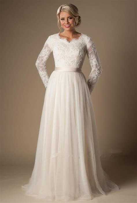 Islamic Plus Size Modest Wedding Dresses by Cheap Plus Size Sleeve Wedding Dresses Wedding Dress