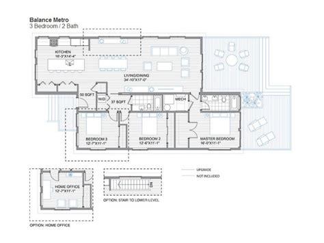 glidehouse floor plans blu homes balance prefab home modernprefabs com