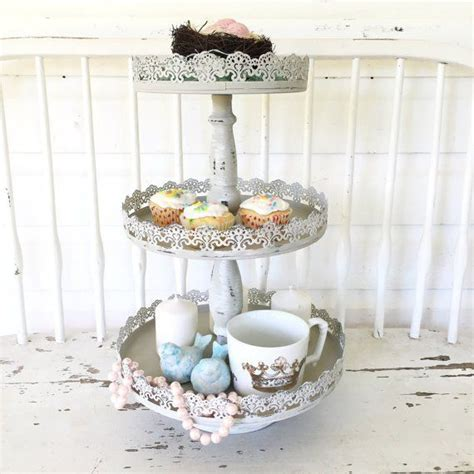 kitchen accessories cupcake design three tier tray decorative stand hallstrom home 1
