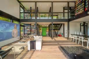 Concept for intelligent timber modular system modern house designs