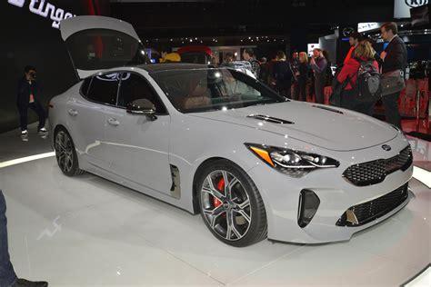 Auto World Kia by 2018 Kia Stinger World Debut At American Auto Show