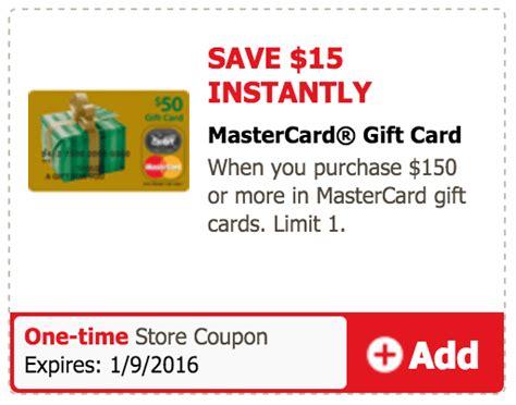 Safeway Mastercard Gift Card - safeway 15 off 150 mastercard gift card doctor of credit