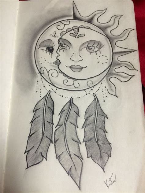 sun and moon dreamcatcher google search tats
