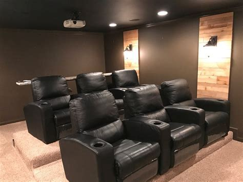 theater room sconces with wood home theatre home theater