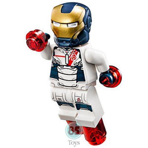 Minifigure Iron Lego Model lego marvel original minifigure iron legion sh168 from set 76038
