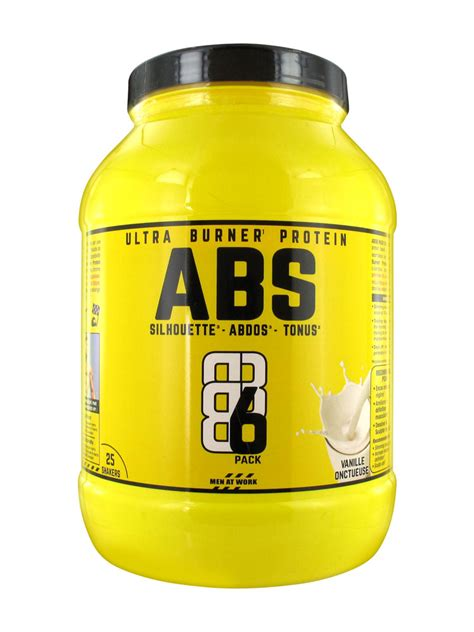 protein 6 pack abs ultra burner protein 6 pack 750g buy at low price here