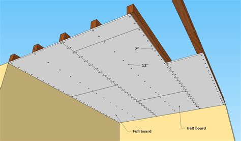 Install Drywall On Ceiling by How To Install Drywall On Ceiling 28 Images How To
