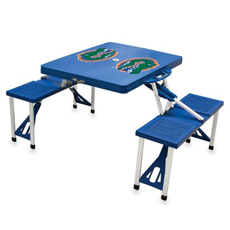 Foldable Picnic Table by Folding Tailgate Table For Outdoor Activity