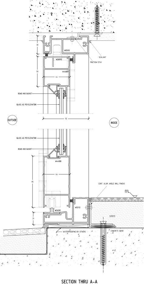aluminium sliding window sections vistafold sliding folding door section a a eurostyle