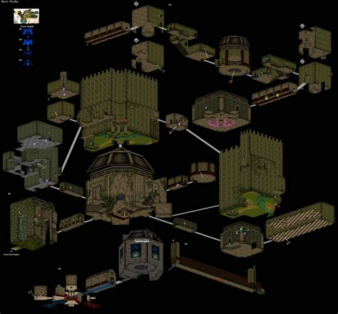 legend of zelda oot map a 3d map of the forest temple from ocarina of time gaming
