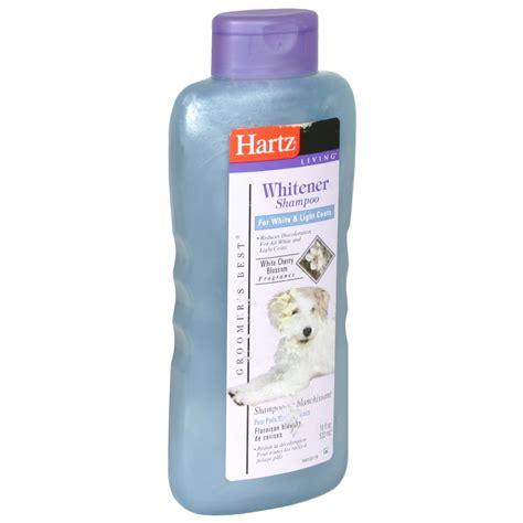 Hartz Groomer S Best Whitener Shoo For Dogs 532 Ml 979256 hartz groomers best whitener shoo 18 oz