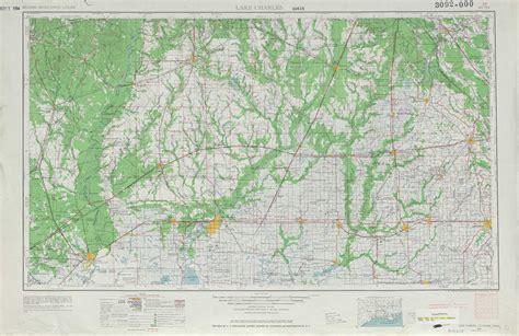 louisiana map lake charles lake charles topographic maps la tx usgs topo