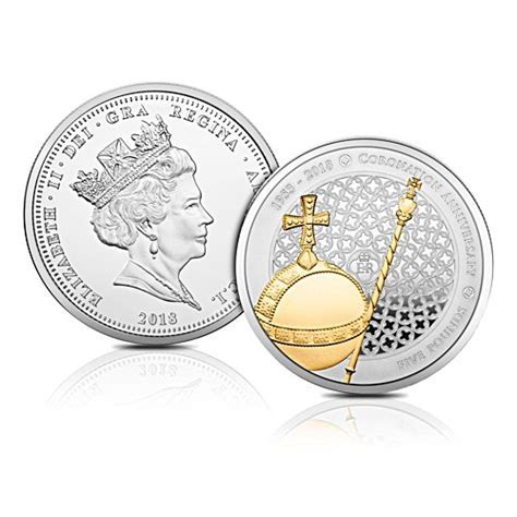 The Long May She Reign 'Struck on the Day' Five Crown Coin