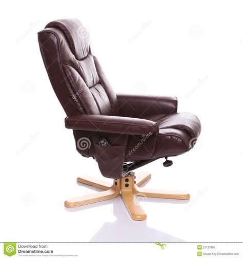 free recliner chairs brown leather recliner chair royalty free stock image