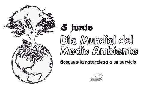 imagenes faciles para dibujar del medio ambiente cartel medio ambiente bosques dibujalia dibujos para