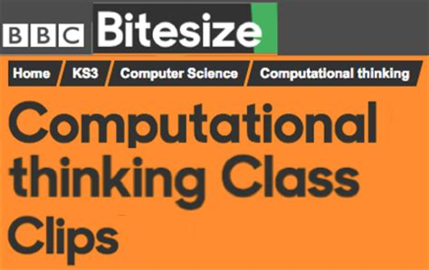 pattern recognition bbc bitesize computing at school