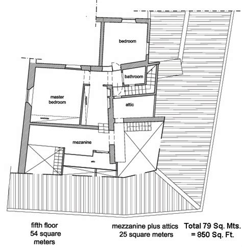 attic bedroom floor plans floor plans of rome navona four bedroom four bathroom attic apartment with two terraces