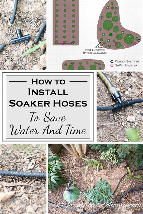 Garden Hose Installation How To Install Soaker Hoses To Save Water And Time