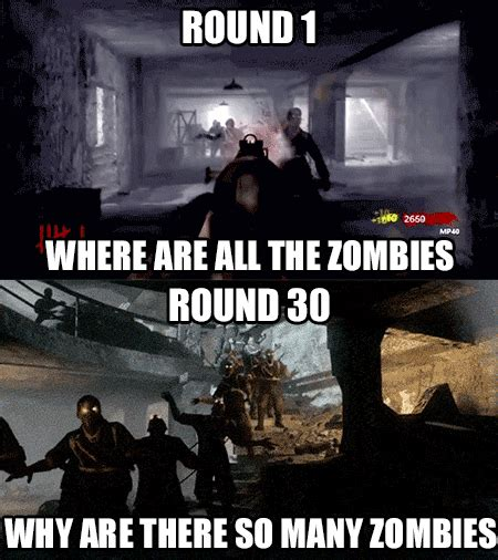 Cod Zombies Memes - call of duty too little too much