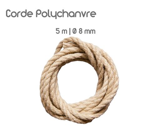 Noeud Hamac Arbre by Corde Poly Chanvre 5 M Pour Attacher Un Hamac Escuderos
