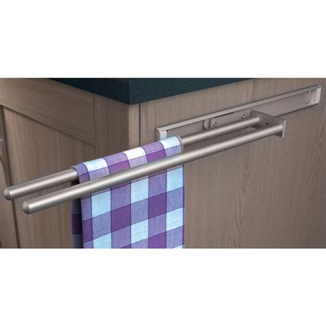 Kitchen Towel Rail Hafele Towel Rail 2 Rail Toolstation