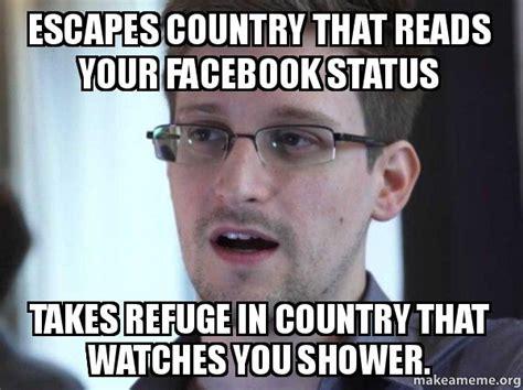 Snowden Meme - edward snowden meme memes