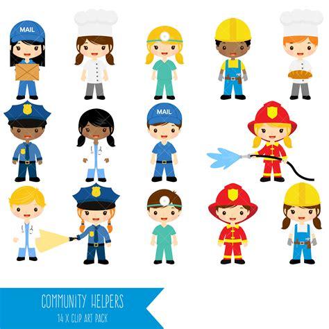 artwork clipart community helpers clipart clip profession clipart