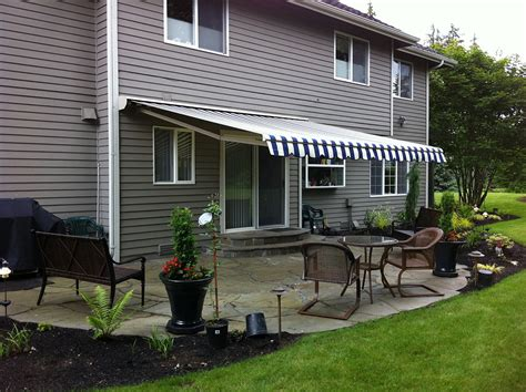 Stationary Awning Deck Awnings Rainier Shade