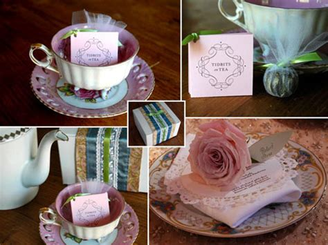 Tea Bridal Shower Ideas by Tea Bridal Shower