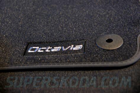 Skoda Floor Mats by Octavia Ii 04 12 Floor Mats Prestige Original Skoda