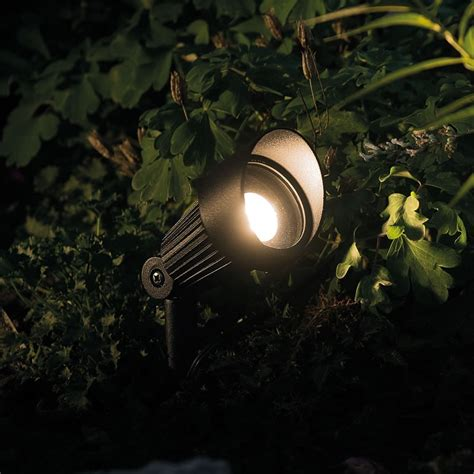 Techmar Focus Garden Led Post Light Kit Focus Led Landscape Lighting