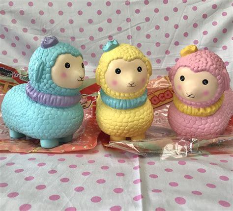 Soft And Slowrise Squishy Jumbo Strawberry Yummiibear jumbo big alpaca llama squishy soft and