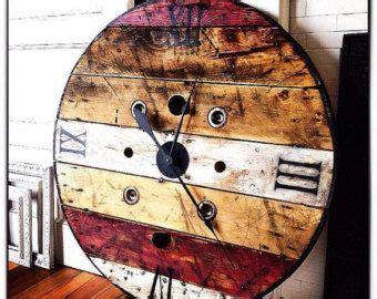 best 25 rustic clocks ideas on sloan